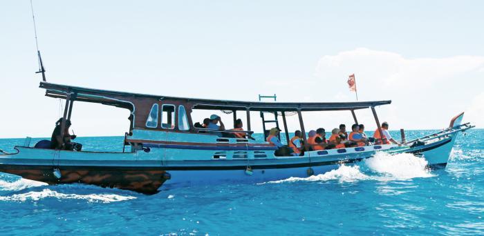 Sewa perahu Belitung
